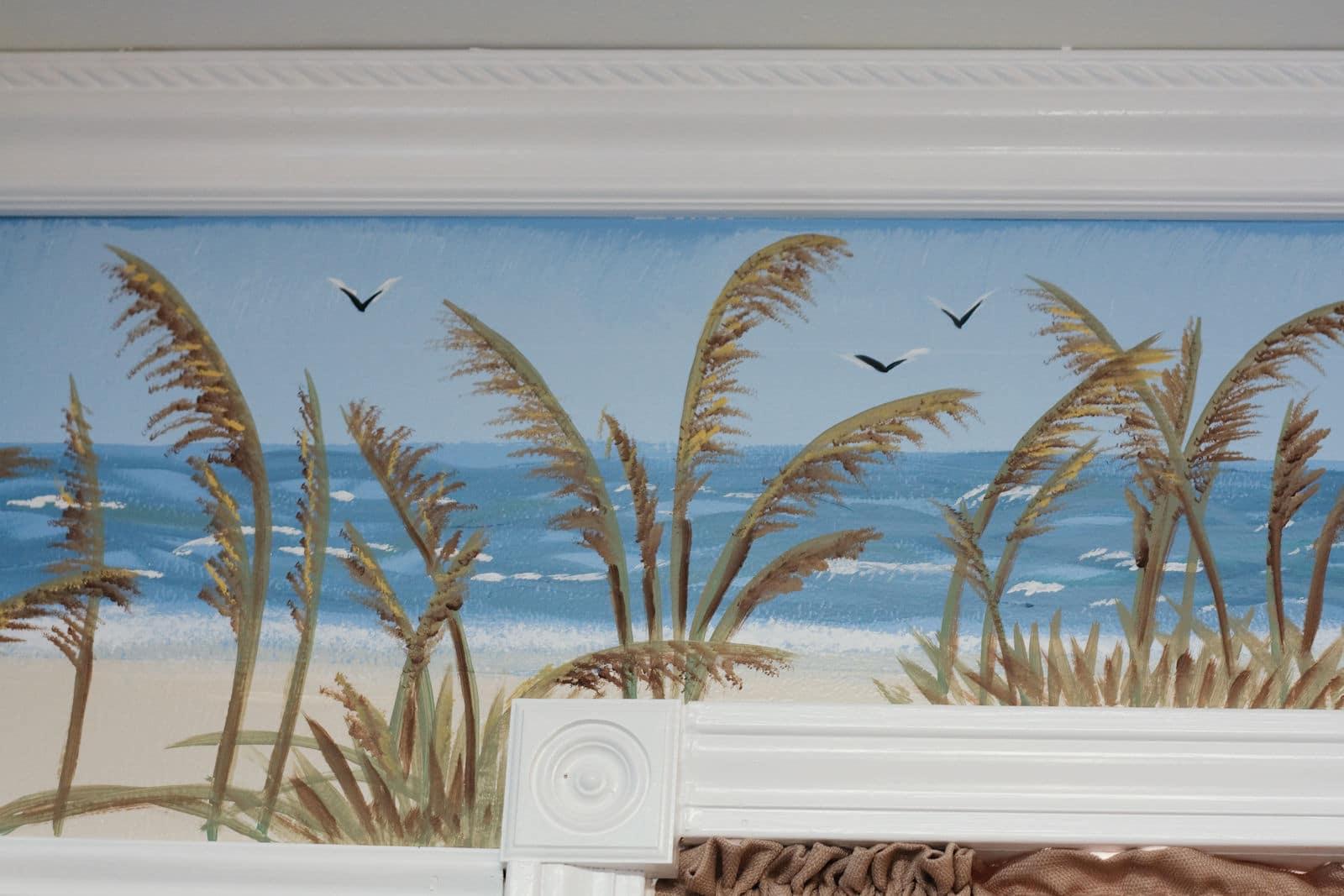 Beach Cottage Mural