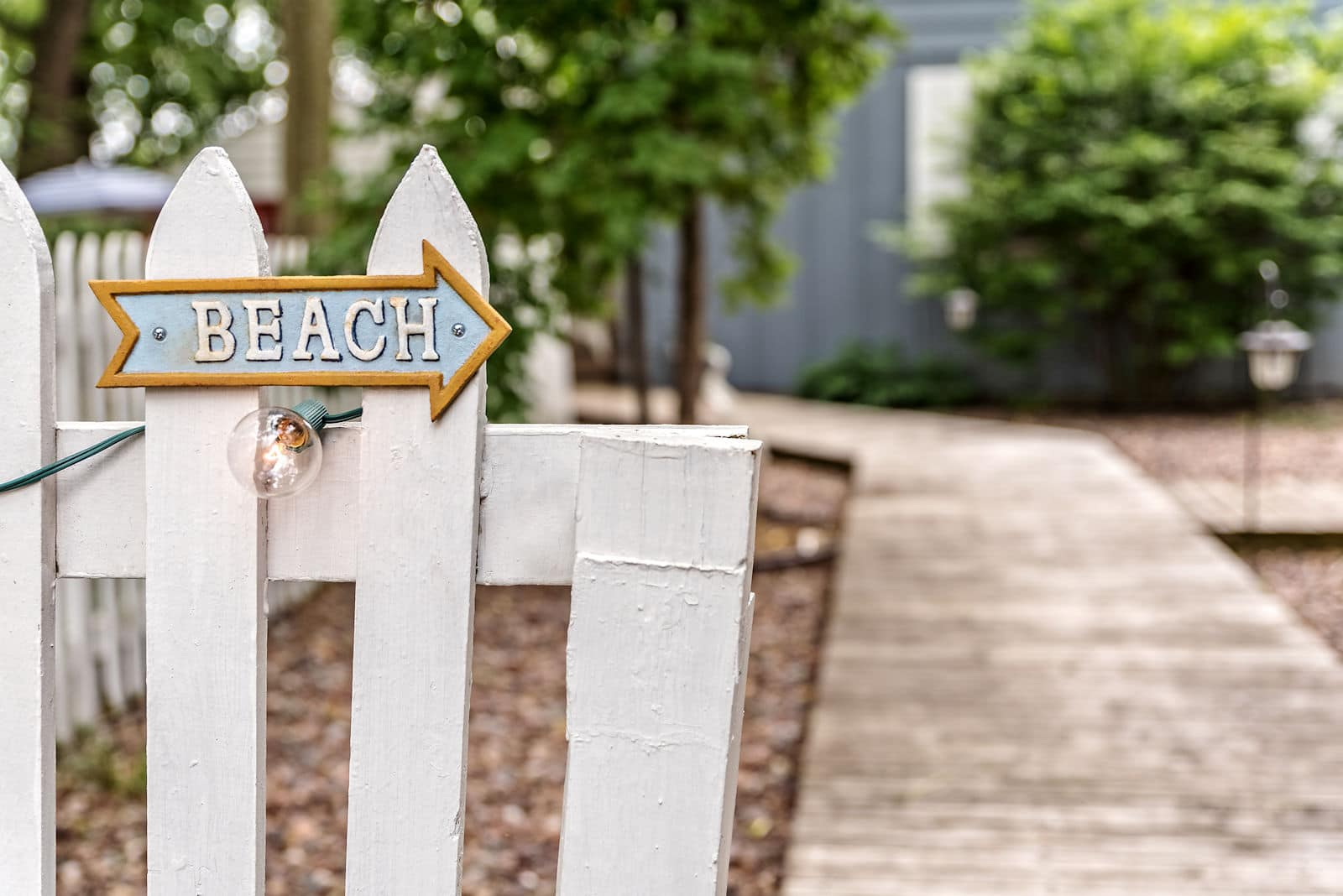 This way to the Beach Cottage