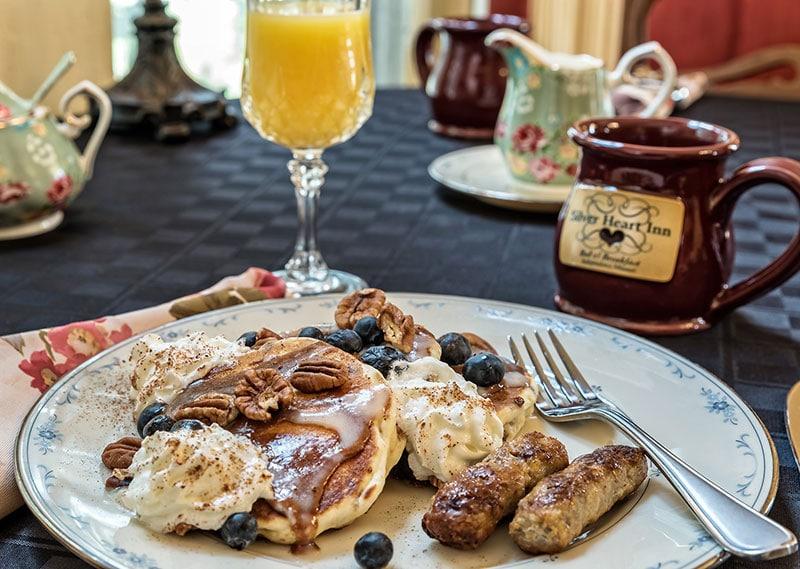 Breakfast - Blueberry Pancakes
