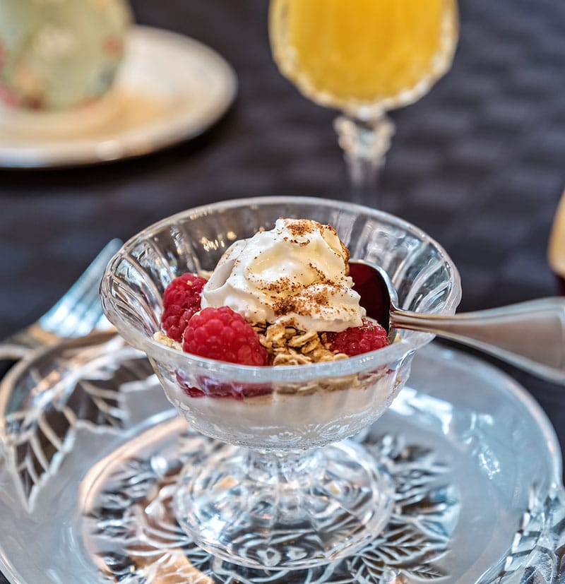 Breakfast - Raspberry Yogurt Starter