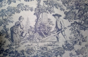 Patterns and Textures: Gardening Scene