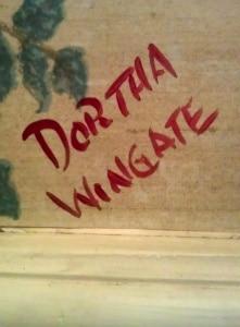 Dortha Wingate
