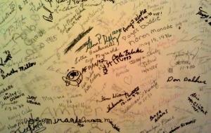 Signatures in Elavator Shaft