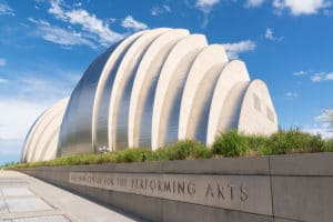 The Kauffman Center for the Performing Arts in Kansas City
